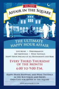 "Third Thursday's ""Affair on the Square"" in San Marco"